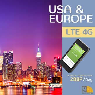EZ Travel Pocket WiFi & Sim - America & Europe